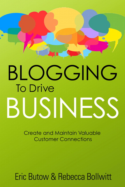 The cover of Blogging to Drive Business, Second Edition